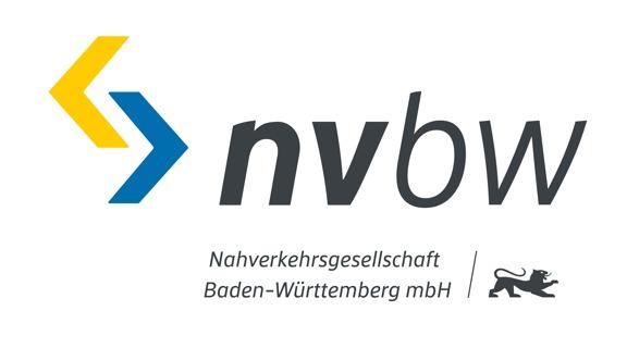 Logo Nahverkehrsgesellschaft Baden-Württemberg mbH
