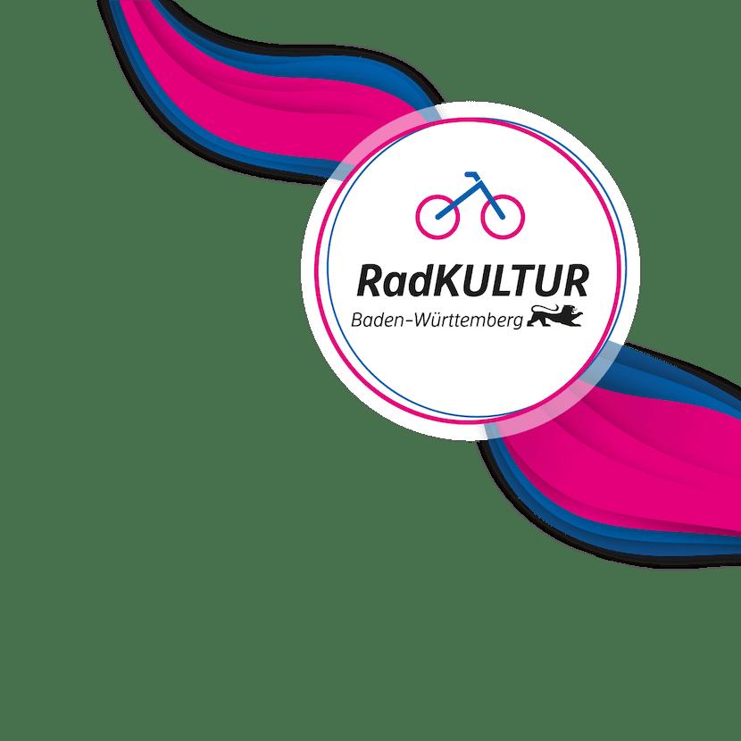 Logo RadKultur Baden-Württemberg